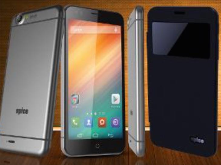 स्पाइसको आइफोन ६ जस्तो 'एमआई ५४९' स्मार्टफोन