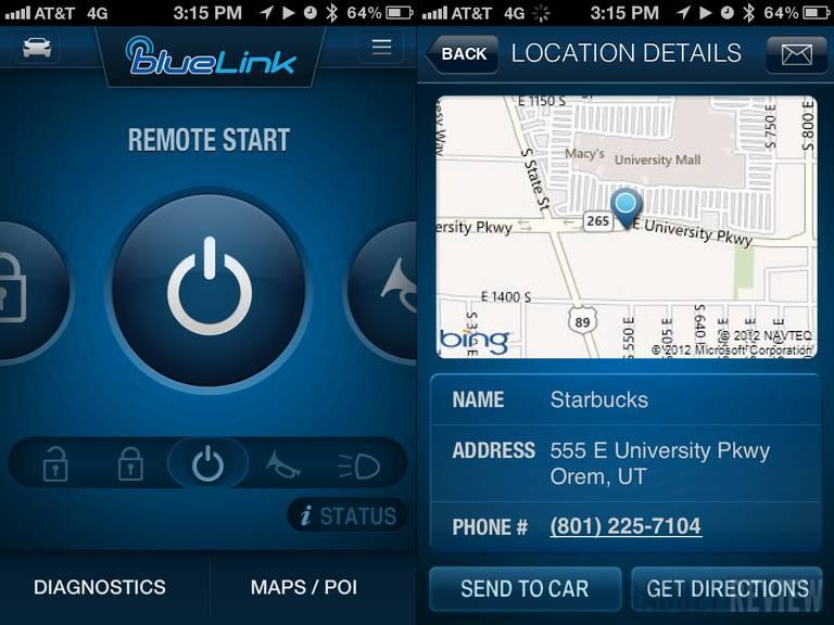 कार स्टार्ट गर्न र खोज्नसकिने हुन्डाईको मोबाईल एप