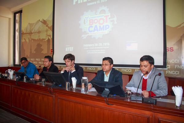 नेपाली युवा उद्यमी मञ्चले बूट क्याम्प गर्ने