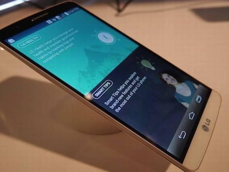 एलजीको नयाँ स्मार्टफोन जी ४ मा थ्रीके रिजोल्यूशनको डिस्प्ले !