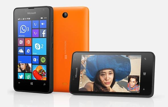 माइक्रोसफ्टले ल्यायो बजेट स्मार्टफोन लुमिया ४३०, सस्तो विण्डोज फोन ७० डलरमा नै उपलब्ध
