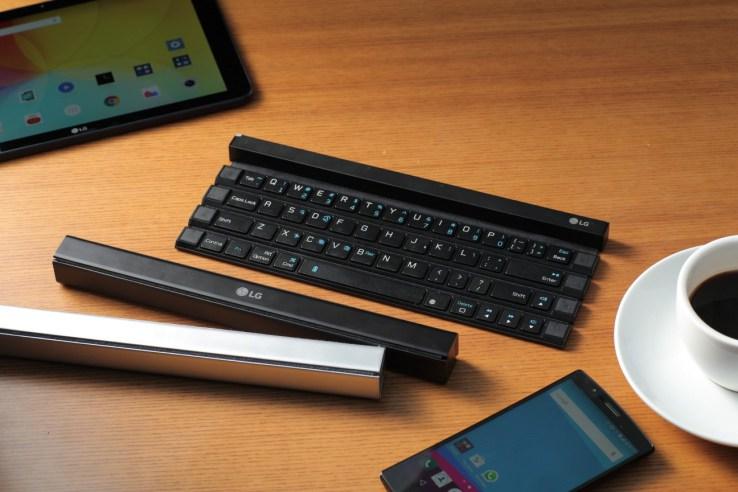 गोजीमा बोक्न मिल्ने कीबोर्ड, स्मार्टफोन तथा ट्याबलेटका लागि उपयोगी