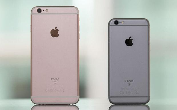 एप्पलको आईफोन सिक्स एस तथा सिक्स एस प्लसले सबै बिक्री रेकर्ड तोड्यो