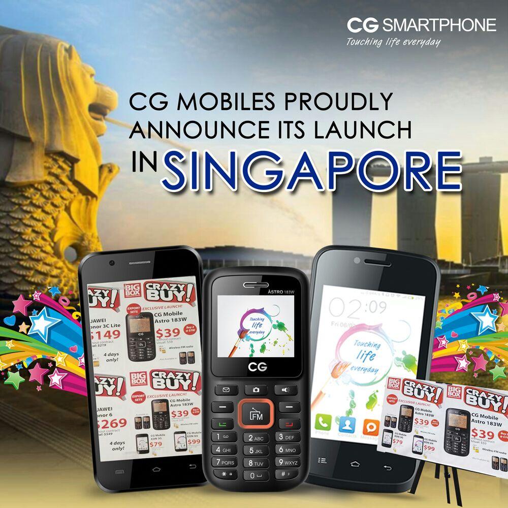 सिजी मोबाइल सिंगापुरमा सार्वजनिक, केहि समयमै अन्य मुलुकमा पनि सार्वजनिक हुँदै