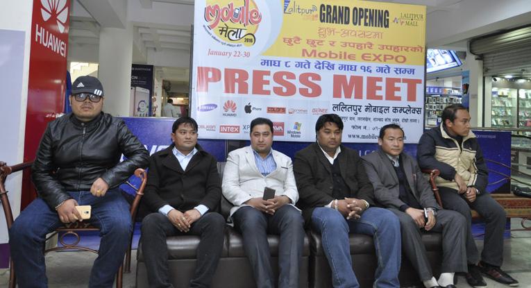 ललितपुर मोबाइल कम्प्लेक्समा मेला हुँदै मोबाइल खरिदमा ४० प्रतिशतसम्म छुट