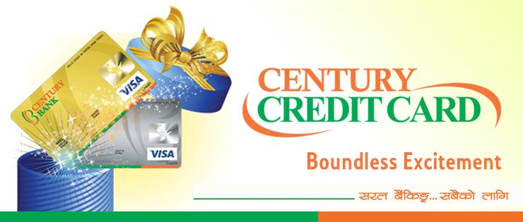 सेञ्चुरी बैँकले भिसा क्रेडिट कार्ड सेवा ल्यायो