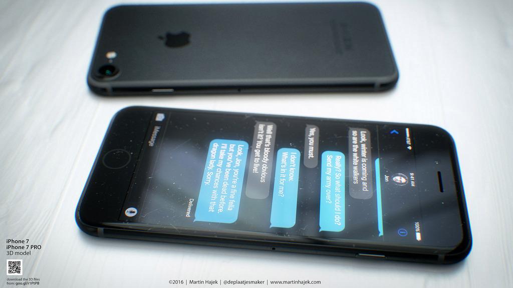 आईफोन सेभेन ३२ जीबी स्टोरेज माथिको भर्सनमा, १६ जीबी हट्ने