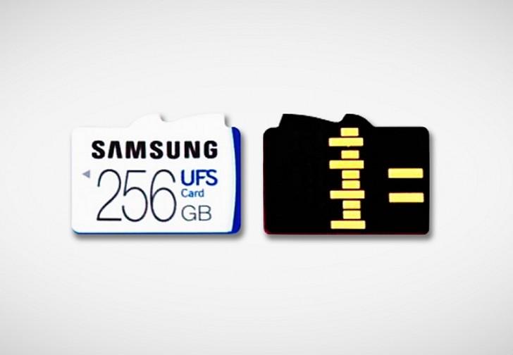 Samsung UFS card
