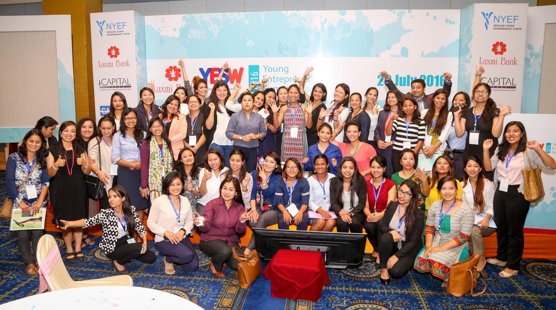 नेपाली युवा महिला उद्यमीको सम्मेलन सम्पन्न