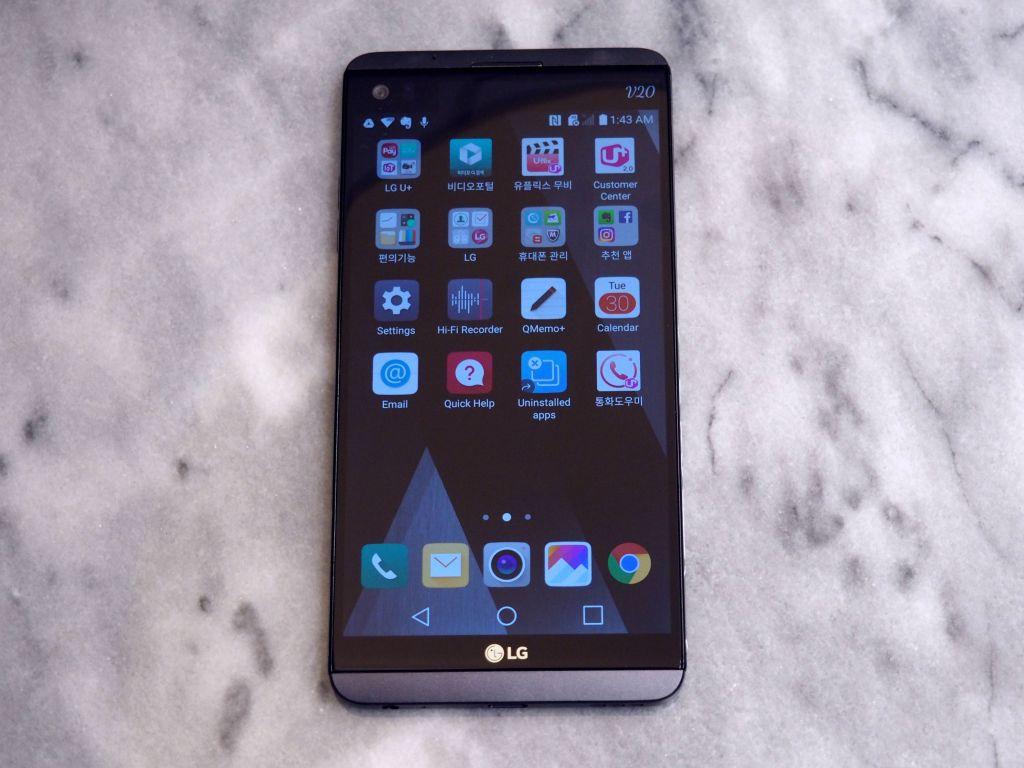 एलजीको भी २० स्मार्टफोन, एन्ड्रोयड नुगटमा आधारित पहिलो स्मार्टफोन