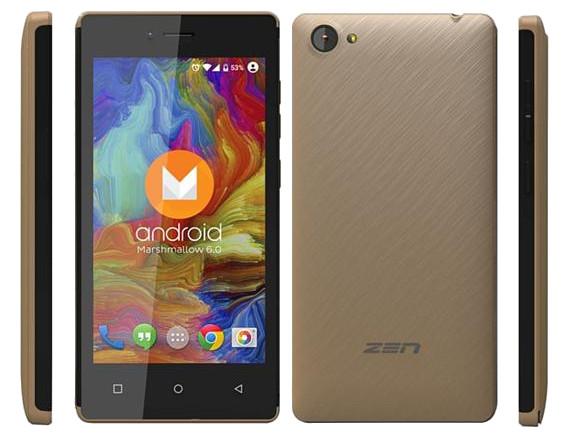 जेन मोबाइलको एडमायर स्टार, मार्शमाल्लोमा आधारित सस्तो स्मार्टफोन