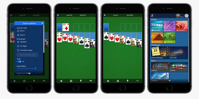 माेबाइलमा तास खेल्नेलार्इ खुशीकाे खबर, माइक्रोसफ्ट सोलिटर कलेक्सन अब एपमा