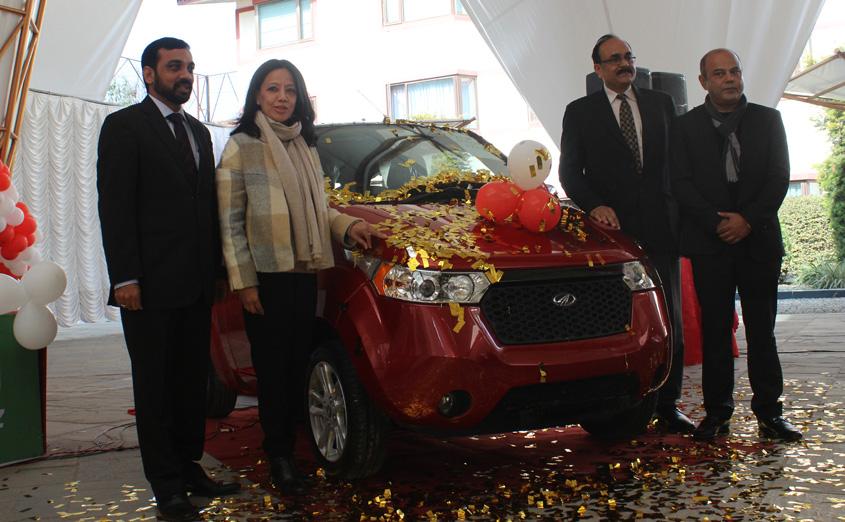 महिन्द्राको इलेक्ट्रिक गाडी 'इ२ओ' बजारमा