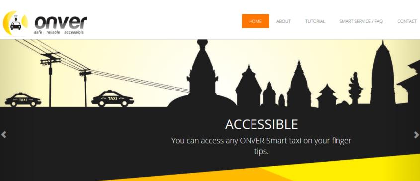 माेबाइल एपबाट ट्याक्सी बोलाउन 'अन्भर' स्मार्ट ट्याक्सी सेवा