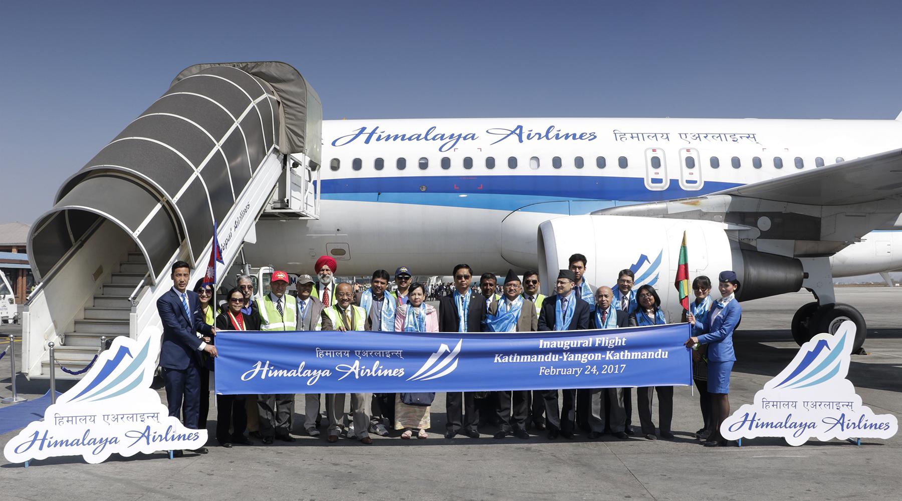 हिमालय एअरलाईन्स्को याङगुन, म्यानमारमा सिधा हवाई सेवा शुरु