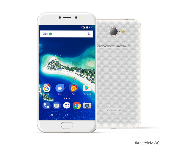 एन्ड्रोयड वानको नयाँ स्मार्टफोन 'जीएम ६', एन्ड्रोयड नुगट ७.० मा आधारित