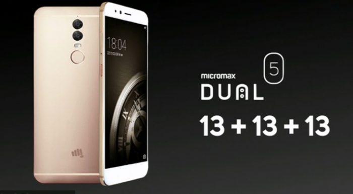लौ हेरौं ड्यूल रियर क्यामरा भएको माइक्रोम्याक्सको पहिलो स्मार्टफोन 'ड्यूल ५'
