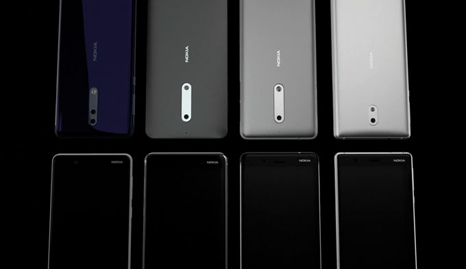 नोकियाका नयाँ स्मार्टफोन 'नोकिया ८ र ९' आउँदै, भिडियोमा हेर्नुहोस् यसको डिजाइन