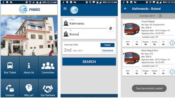 पश्चिम नेपाल बस व्यवसायी संघको टिकट अनलाइनबाटै काट्न सकिने