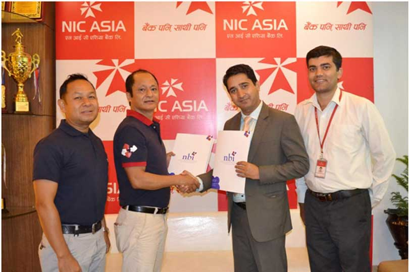 एनआईसी एशिया बैंक र नेशनल बैंकिङ्ग ईन्ष्टिच्युटबीच 'जान्बी' कोर्स संचालन गर्न सम्झौता