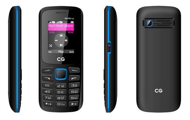 सिजी मोबाइल्सको फीचर फोन 'एस्ट्रो टी १८' बजारमा
