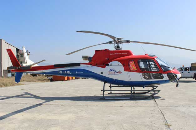 कैलाश हेलिकप्टर सर्भिसेजद्धारा सेवा शुरु