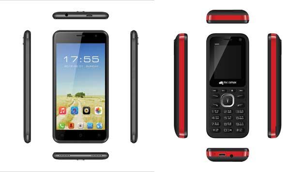 माइक्रोम्याक्सको क्यु ३५३ बजेट स्मार्टफोन र एक्स ४०९ बारफोन बजारमा