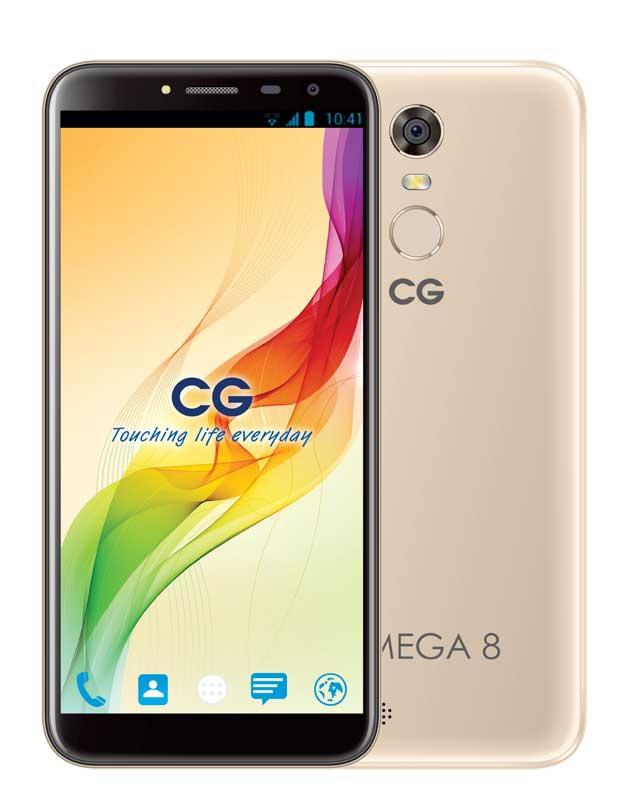सिजी मोबाइल्सले ल्यायो ओमेगा ८ स्मार्टफोन, इन्फिनिटि डिस्प्ले र फिंगरप्रिन्ट स्मार्टलक सुविधा