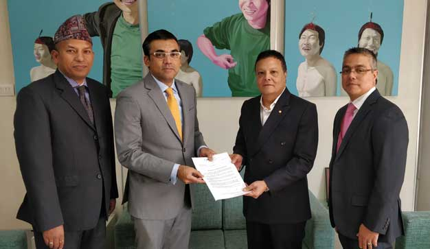 हिमालयन बैंक र ईन्टरनेशनल फाइनान्स कर्पोरेशनविच लगानी सम्झौता