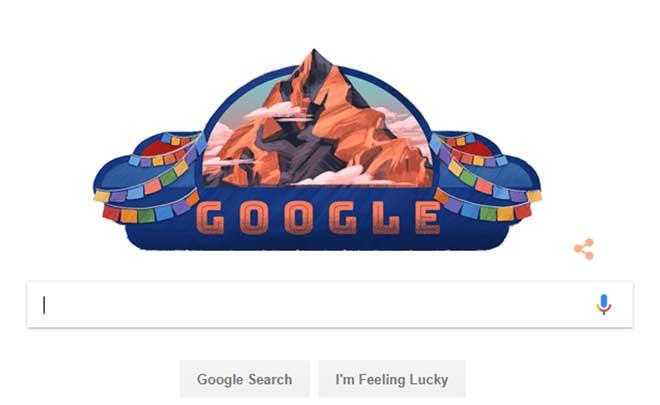 गणतन्त्र दिवसको अवसरमा गूगलको विशेष डुडल, सगरमाथासहितको डुडल यस्तो छ