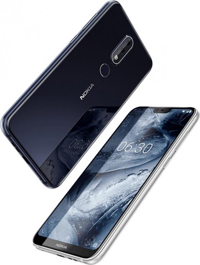 नोकियाको एक्स सिरिजको पहिलो स्मार्टफोन 'एक्स सिक्स', आइफोन एक्स जस्तो डिजाइन