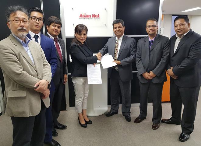 नबिल बैंक र एशियन नेट जापान बिच रेमिट्यान्स सञ्चालन सम्बन्धी सम्झौता