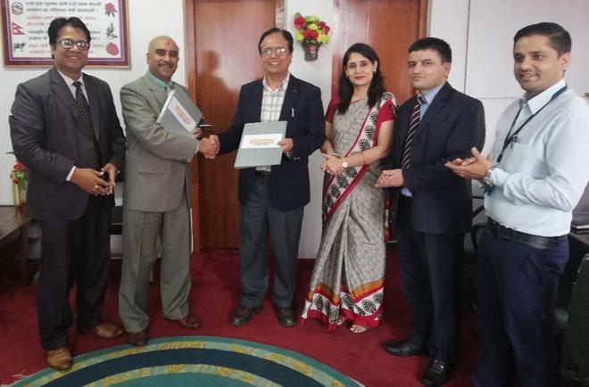 प्राइमलाइफ इन्स्योरेन्स र नेपाल बैंक बिच बैंकासोरेन्स सम्झौता