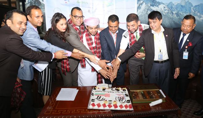 सलाम एयरलाइन्सको नेपाल उडान शुरु, जीएसए व्यवस्थापनमा आइएमई ग्रुप