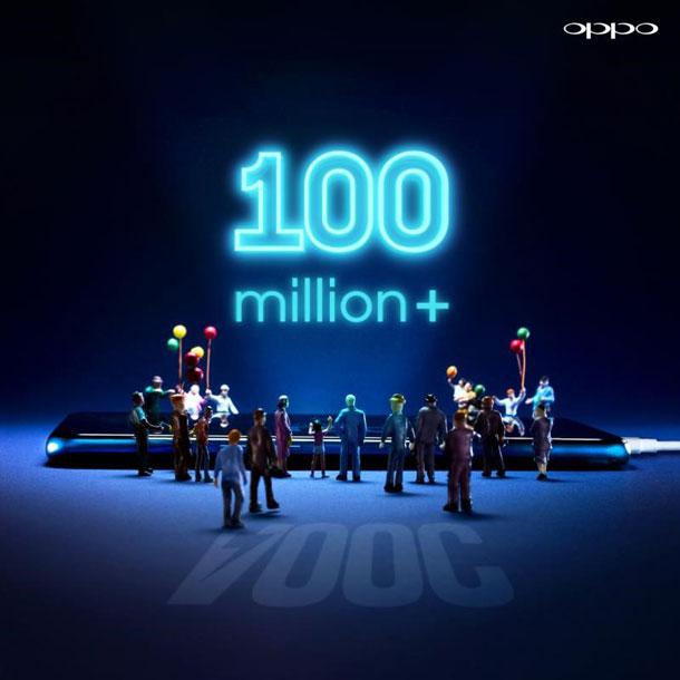 ओपोको सुपर भोक चार्जिङ प्रविधियुक्त स्मार्टफोन, विश्वभर १० करोड भन्दा बढी बिक्री