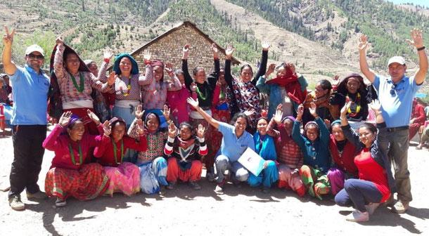 एनसेलले ग्रामीण भेगका महिलालाई आय आर्जनको अवसर प्रदान गर्ने