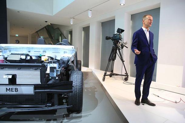 फक्सवागनद्धारा इलेक्ट्रीक कार उत्पादनको लक्ष्य ५० प्रतिशतले वृद्धि