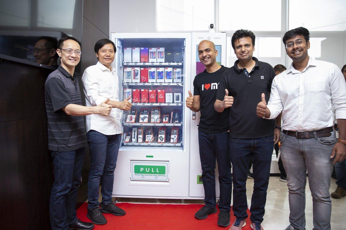 साओमीले भारतमा भेण्डिंग मेशिनमार्फत स्मार्टफोन बिक्री गर्ने