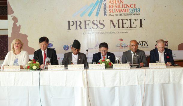नेपालमा पहिलो एशियन रेजिलिएन्स समिट आयोजना हुँदै, पर्यटन क्षेत्रको अनुभव साटासाट गरिने