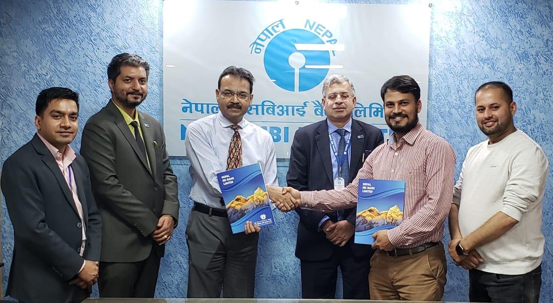खल्ती र नेपाल एसबीआई बैंक बीच डिजिटल भुक्तानीका लागि सम्झौता