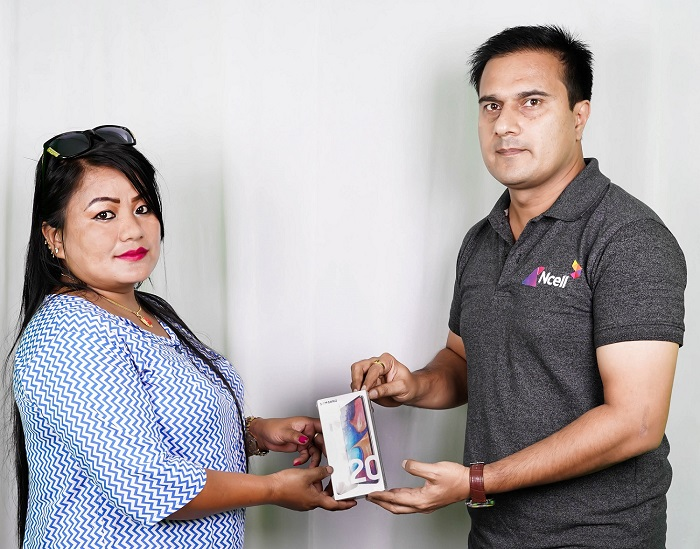 एनसेलको 'कल आयो पैसा पायो' योजनाका विजेता घोषणा, १० जनाले पाए स्मार्टफोन