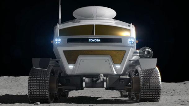 टोयोटाले यस्तो डिजाइनमा चन्द्रमामा कुदाउन मिल्ने गाडि बनाउने, सोलारबाट रिचार्ज