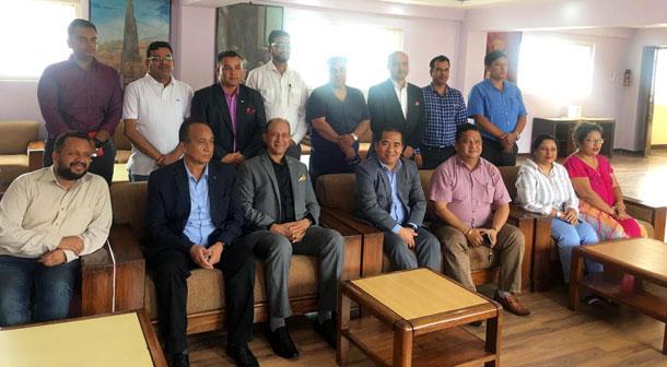 नेपाल इटाली उद्योग वाणिज्य संघमा नयाँ नेतृत्व, अध्यक्षमा नवराज ढकाल चयन