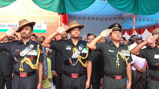 भारतको ७३ औं स्वतन्त्रता दिवस काठमाडौं स्थित भारतीय राजदूतावासमा मनाईयो