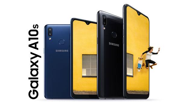सामसङको ग्यालेक्सी ए सिरिजको स्मार्टफोन 'ए १०एस' नेपाली बजारमा, यस्तो छ विशेषताहरु