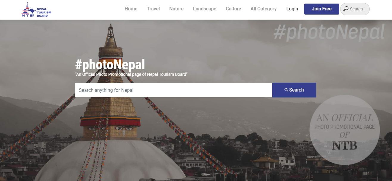 फोटोमार्फत नेपाललाई चिनाउन फोटोनेपाल डट ट्राभल वेबसाइट सञ्चालनमा