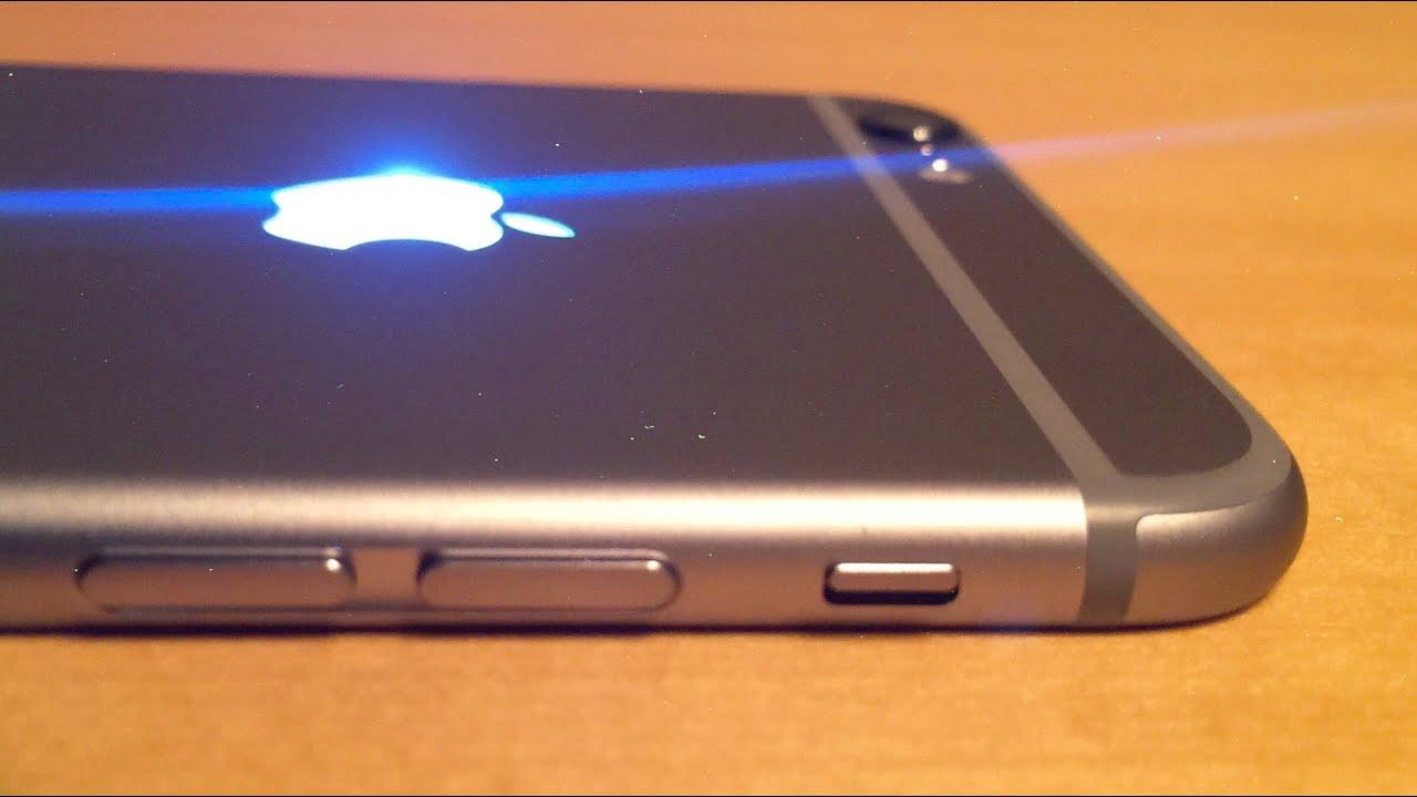 आगामी आइफोनहरुको पछाडी हुने एप्पल लोगो एलईडी लाइटयुक्त राखिने, नोटिफिकेसन देखाउने