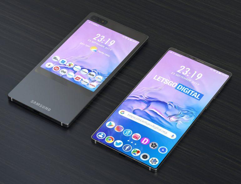 सामसंगको ड्यूल स्क्रीन भएको स्मार्टफोनको पेटेन्ट दर्ता, यस्तो डिजाइनमा आउनसक्नेछ स्मार्टफोन