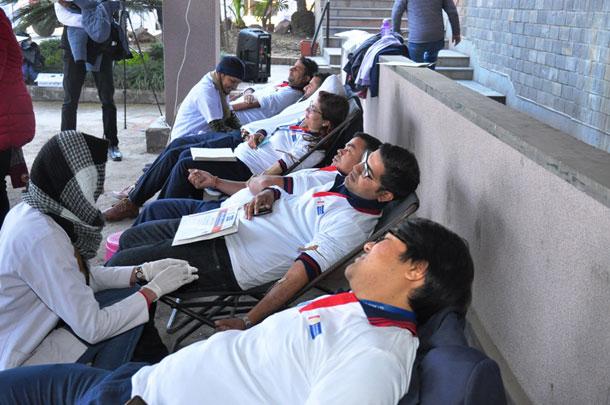 राष्ट्रिय वाणिज्य बैंकको ५५ औं वार्षिकोत्सवको अवसरमा रक्तदान कार्यक्रम सम्पन्न