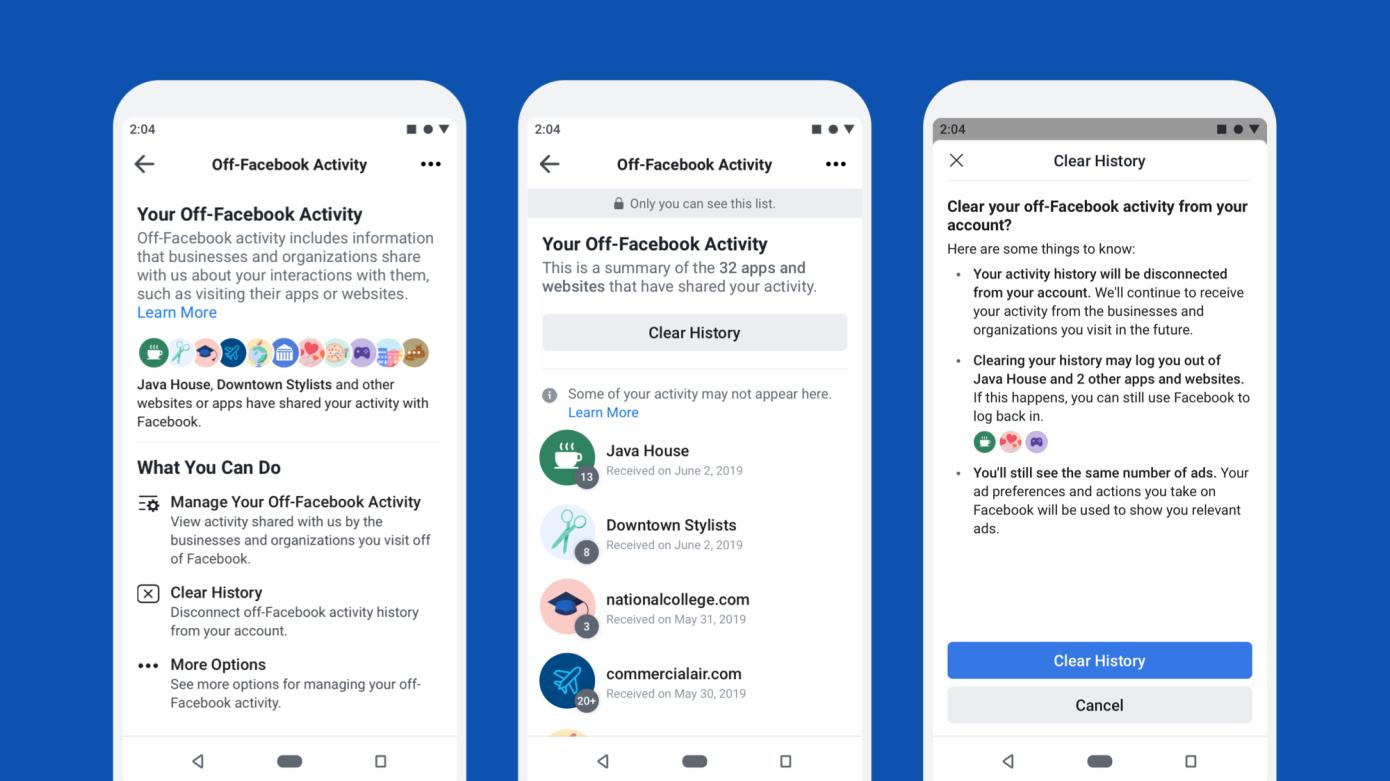 फेसबुकको डाटा नियन्त्रण टूल, कुन एप्स र साइटहरुमा डाटा शेयर गर्ने अब आफैं छनौट गर्नुस्